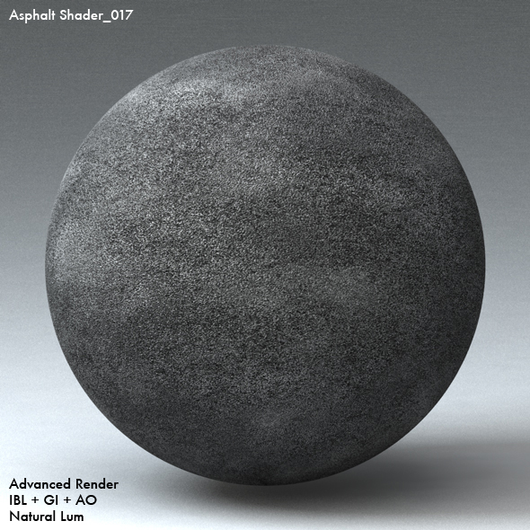 Asphalt Shader_017 - 3DOcean Item for Sale