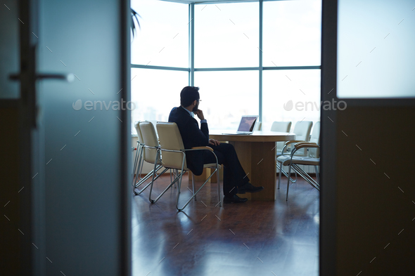 Employer at work - Stock Photo - Images