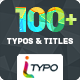 iTypo | Typography & Title Animations - VideoHive Item for Sale