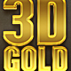 3D Gold Text Effects - GraphicRiver Item for Sale