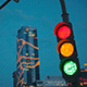 Traffic Light Evening in the City - VideoHive Item for Sale