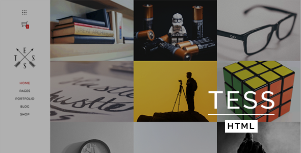 TESS – Creative Portfolio Template