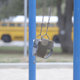 Playground Swing with Chains - VideoHive Item for Sale