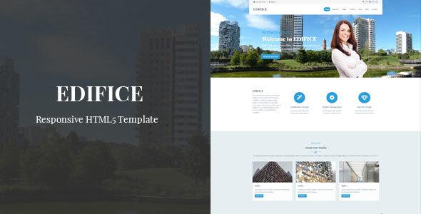 Edifice - Responsive HTML Template