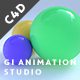 Global Illumination Animation Studio - Cinema 4D - 3DOcean Item for Sale