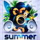 Summer Sounds Party Flyer - GraphicRiver Item for Sale