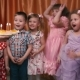 Young Children Blow Out The Candles On The Cake And Happy. - VideoHive Item for Sale