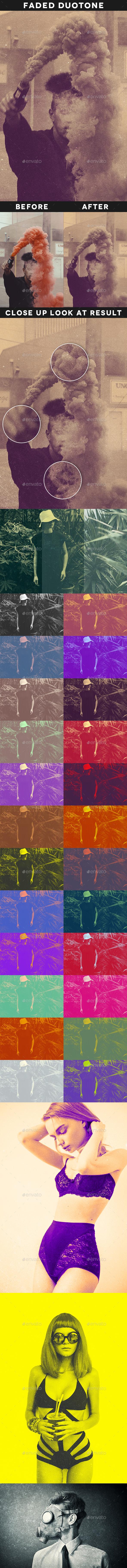 Faded Duotone - Artistic Photo Templates