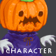 Pumpkin Creature - Character Sprite - GraphicRiver Item for Sale