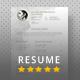 Elegant Resume Template - GraphicRiver Item for Sale
