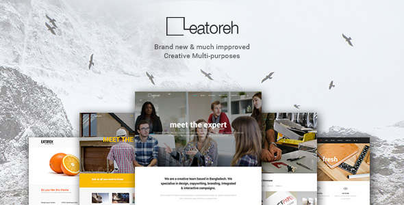 Free Download Eatoreh - Responsive and Fresh Joomla Template Nulled Latest Version