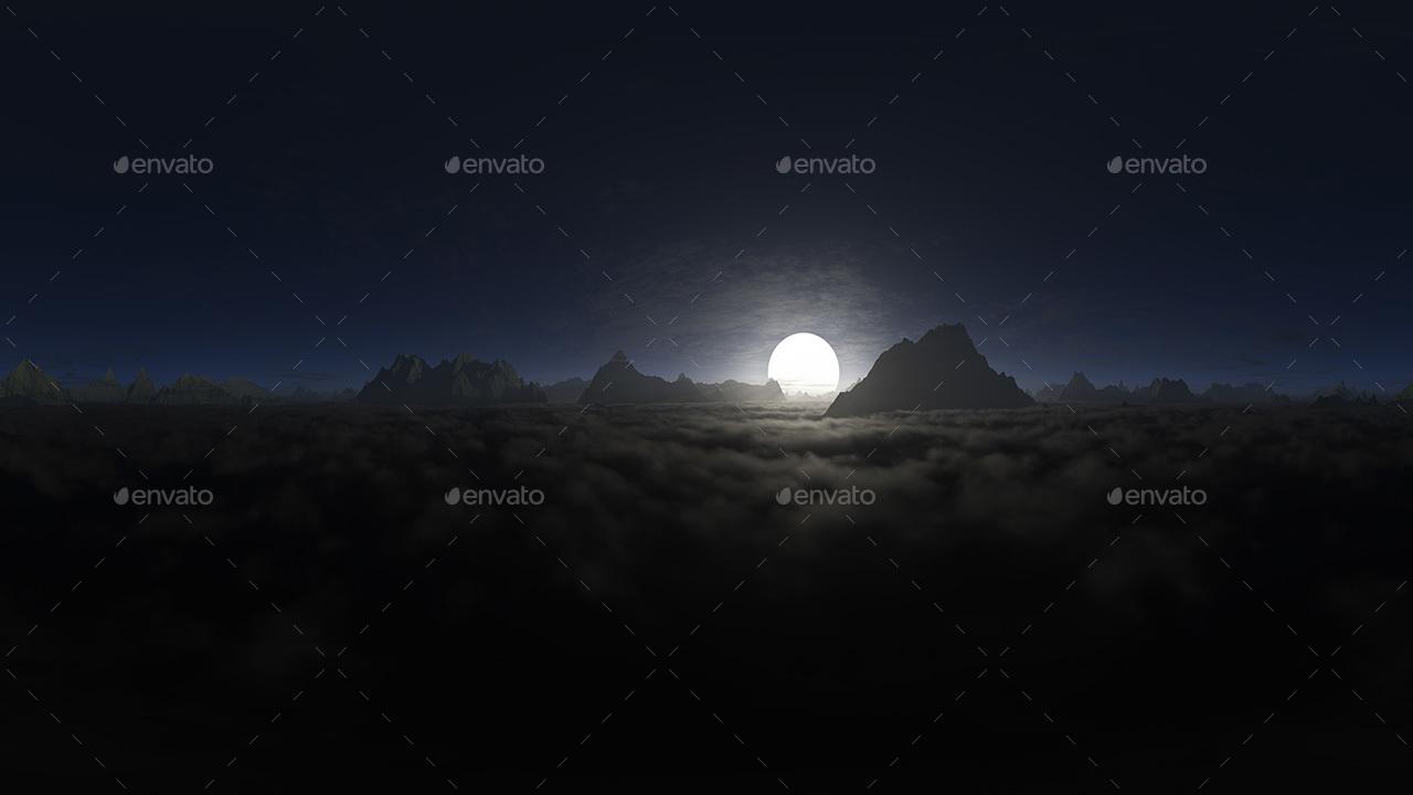 Night Skybox Pack Vol I By 7030 Artwork 3docean