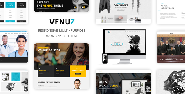 Venuz – Responsive WordPress Theme