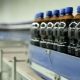 Bottles Are Moving On The Tape Conveyor - VideoHive Item for Sale