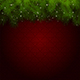 Red Background with Christmas Tree - GraphicRiver Item for Sale