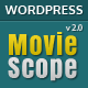 MovieScope - Responsive Wordpress Portal Theme Nulled