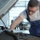 Mechanic Checks Up Serviceabillity Of The Car - VideoHive Item for Sale