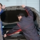 Two Mechanics Open The Car Hood At The Car Service - VideoHive Item for Sale
