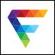Front Media - Letter F Logo - GraphicRiver Item for Sale