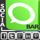 Simple Social Bar