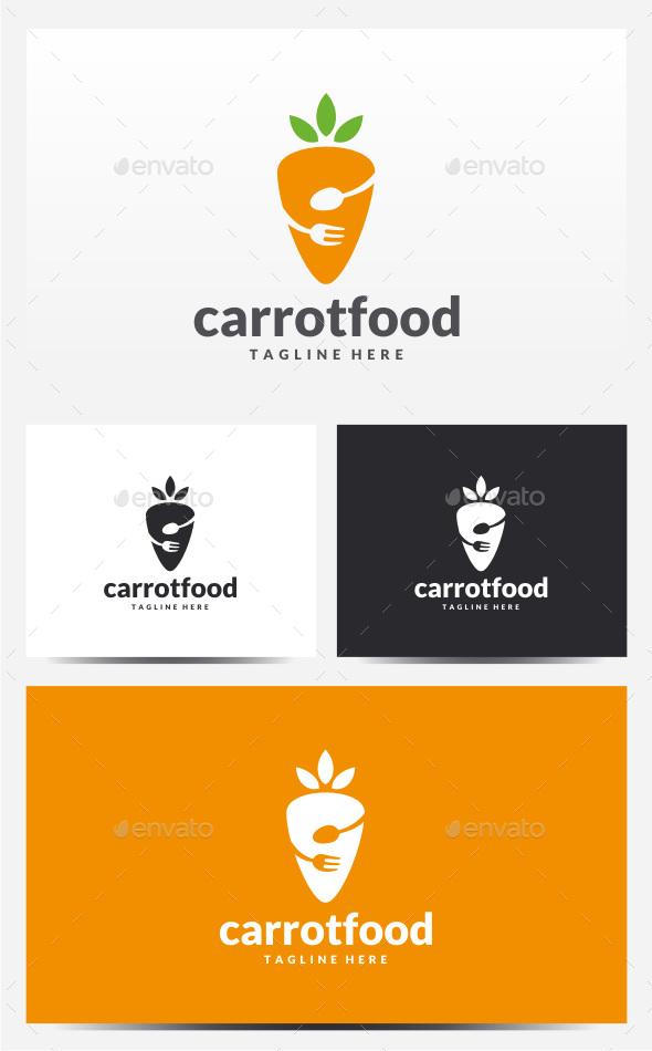 Carrot Food Logo - Food Logo Templates