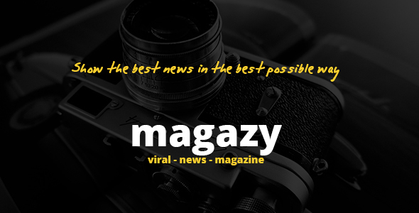 Magazy - Viral, News & Magazine WordPress Theme - Blog / Magazine WordPress
