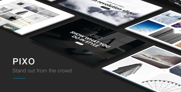 Pixo – A Multipurpose WordPress Theme