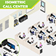 Isometric Call Center - GraphicRiver Item for Sale