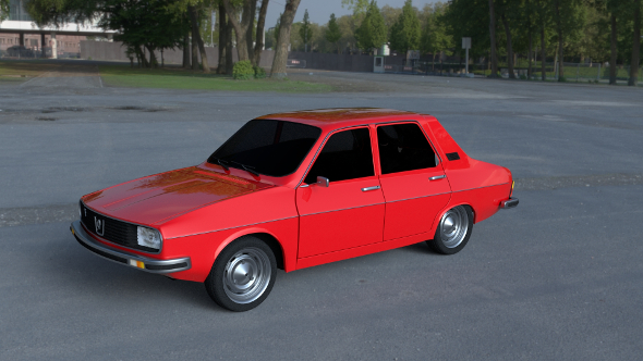 Renault 12 / Dacia 1300 HDRI - 3DOcean Item for Sale