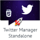 Twitter Manager Standalone Script