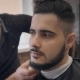 Fashion Barbershop Or Salon. Master Works With a Beard Young Man.  - VideoHive Item for Sale