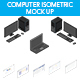 Isometric Computer Mockup - GraphicRiver Item for Sale