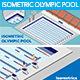 Isometric Olimpic Pool - GraphicRiver Item for Sale