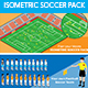 Isometric Soccer Pack - GraphicRiver Item for Sale