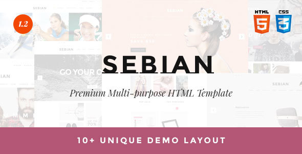 SEBIAN - Multipurpose eCommerce HTML5 Template