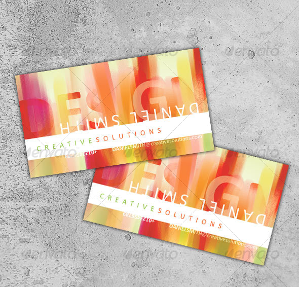 Modern Business Card - No. 6 - Creative Business Cards