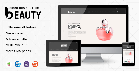 Fragrances Perfumes & Cosmetics Store Premium Shopify Theme