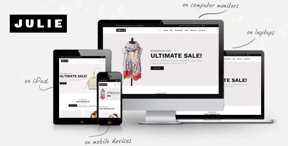 Julie – Prestashop Fashion Theme