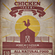 Chicken Farm Flyer Template - GraphicRiver Item for Sale
