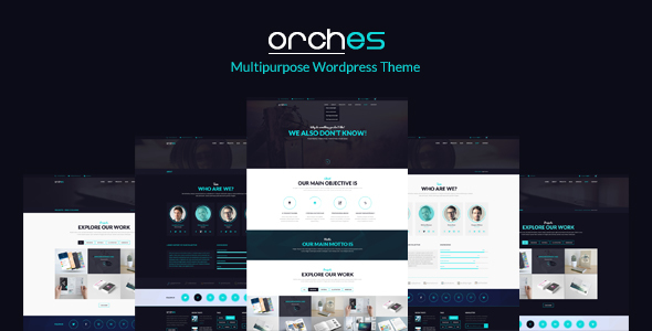 Orches | Multi-Purpose Corporate Business WordPress Theme