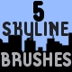 City Skyline Brush Pack - GraphicRiver Item for Sale