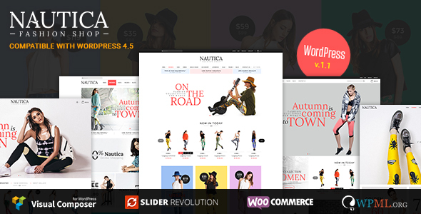 Nautica – Responsive WooCommerce WordPress Theme
