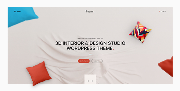 Interni – 3D Interior & Design Studio WordPress Theme