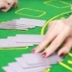 Dealer Handling Playing Cards At a Poker Table  - VideoHive Item for Sale