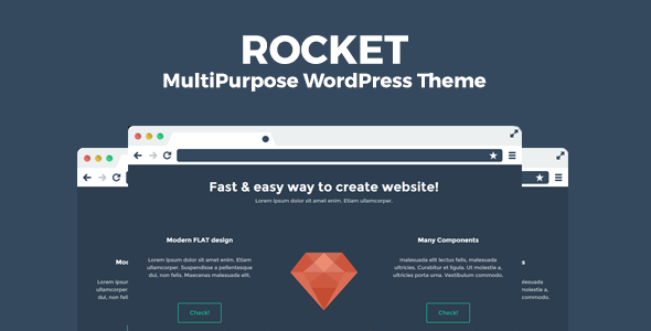 Rocket | Creative Multi-Purpose WordPress Theme