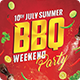 Barbeque Party Poster - GraphicRiver Item for Sale