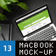 MacBook Screen Responsive Mock-Up - GraphicRiver Item for Sale