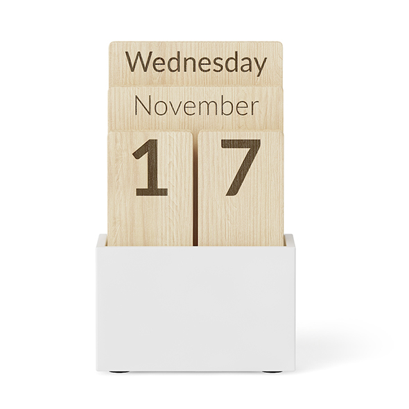 Wooden Calendar - 3DOcean Item for Sale