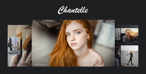 Photo WordPress Theme – Chantelle