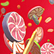 Candy Red Background - VideoHive Item for Sale
